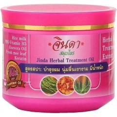 Jinda Herbal Treatment Rice and milk Маска для тонких волос с рисовым молоком 400мл