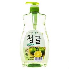 Lion Chamgreen Концентрированное средство для мытья посуды Зеленый цитрус 970мл