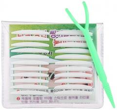The Saem Duplex Eyelid Sticker Стикеры для коррекции век, двусторонние 22шт