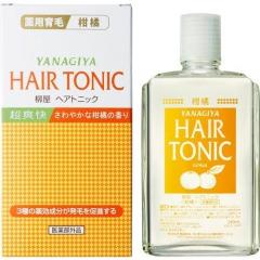Yanagiya Hair Tonic Тоник против выпадения волос (ментол и цитрус) 240мл
