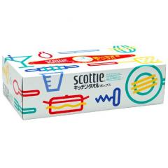 Nepia Scottie Crecia Бумажные кухонные полотенца двухслойные 75 листов 1шт