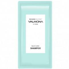 Valmona Recharge Solution Blue Clinic Nutrient Shampoo Восстанавливающий увлажняющий шампунь 10мл