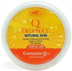 Deoproce Natural Skin Coenzyme Q10 Nourishing Cream Крем для лица и тела с коэнзим Q10 100г
