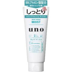 Shiseido UNO Увлажняющая мужская пенка для умывания с натуральной глиной 130г