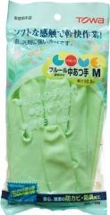Towa Виниловые перчатки с покрытием внутри из льна и хлопка 1пара