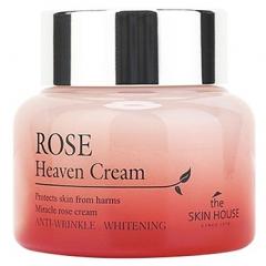 The Skin House Rose Heaven Cream Антивозрастной крем для лица с экстрактом розы 50мл