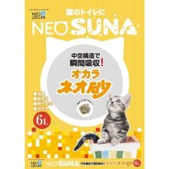 Neo Loo Life Комкующийся туалетный наполнитель с интенсивной защитой от запаха из соевых бобов 6л