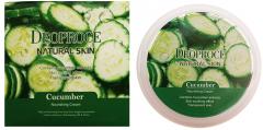 Deoproce Natural Skin Cucumber Nourishing Cream Крем для лица и тела с экстрактом огурца 100г