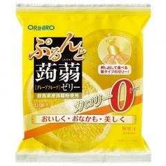 Orihiro Желе конняку с натуральным соком (Лимон, Грейпфрут) 6шт