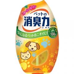 ST Дезодорант-ароматизатор для комнат против запаха домашних животных с ароматом фруктов 400мл
