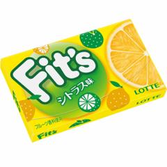 Lotte Fits Жевательная резинка со вкусом лимона 24.6г