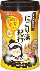 """Hakugen Earth """"Банное путешествие"""" Увлажняющая соль для ванны (Юдзу) 600г"""