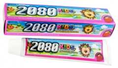 """Kerasys Dental Clinic 2080 Детская зубная паста с витамином Е """"Клубника"""" 80г"""