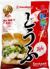 Marukome Мисо-суп с кусочками обжаренного тофу 8шт 152г