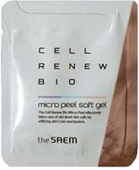 The Saem Cell Renew Bio Micro Peel Soft Gel Мягкий пилинг-скатка для лица (тестер)