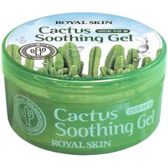 Royal Skin Cactus Soothing Gel Многофункциональный гель для лица и тела с экстрактом кактуса 300мл