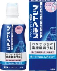 Lion Dent Health Антибактериальный лечебный ополаскиватель для полости рта 250мл
