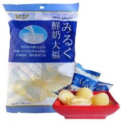 Royal Family Japanese Style Miruku Daifuku Mochi Рисовые пирожные моти молочные 120г