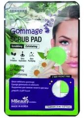 MBeauty Gommage Scrub Pad Отшелушивающая подушечка-гоммаж для лица 1шт