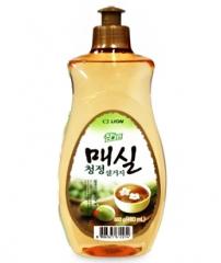 CJ Lion Chamgreen Japanese Apricot Средство для мытья посуды с ароматом абрикоса 480мл