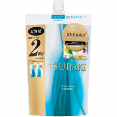 Shiseido Tsubaki Smooth Разглаживающий шампунь для волос с маслом камелии 660мл