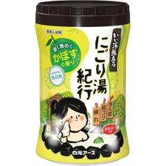 Hakugen Банное путешествие Увлажняющая соль для ванны (цитрус) 600г
