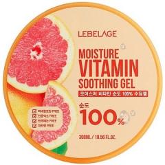 Lebelage Moisture Vitamin Purity 100% Soothing Gel Увлажняющий гель с витаминами 300мл