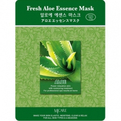 Mijin Fresh Aloe Essence Mask Тканевая маска с алоэ 23г