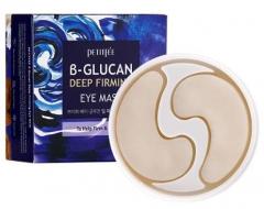Petitfee B-Glucan Deep Firming Eye Mask Укрепляющие патчи с бета-глюканом 60шт