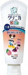 Lion Clinica Kids Детская зубная паста со вкусом персика 60г