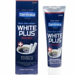 Lion Dentrala white Plus Отбеливающая зубная паста защита от кофе, чая и сигарет 150г