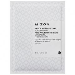 Mizon Enjoy Vital-Up Time Tone Up Mask Тканевая маска для улучшения тона лица 25мл