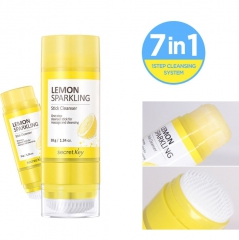 Secret Key Lemon Sparkling Stick Cleanser Очищающий поры лимонный стик 38г