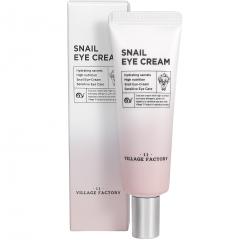 Village 11 Factory Snail Eye Cream Крем для кожи вокруг глаз с улиточным муцином 25мл