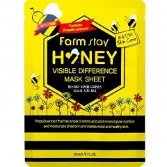 Farmstay Тканевая маска для лица с экстрактом меда 23мл