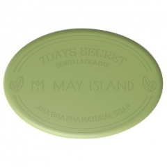 May Island 7Days Secret Centella Cica Pore Cleansing Bar Мыло для проблемной кожи 100г