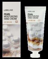Lebelage Pearl Moisturizing Hand Cream Увлажняющий крем для рук с жемчужной пудрой 100мл