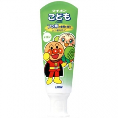 Lion Komodo Слабоабразивная детская зубная паста со вкусом дыни 40г