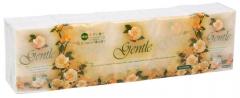 Gotaiyo Gentle Бумажные трехслойные платочки с ароматом Европы 10 пачек по 10шт