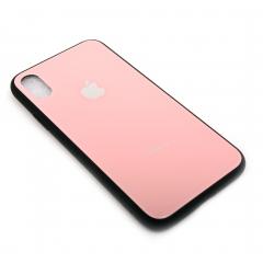 Чехол для iPhone X DLED розовый