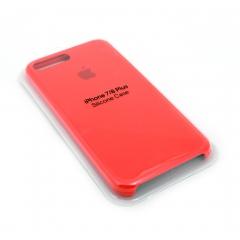 Чехол для iPhone 7/8+ DLED силиконовый розовый
