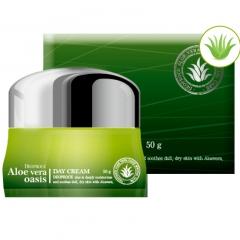 Крем для лица с Алоэ Deoproce Aloe Vera Oasis Day Cream 50г