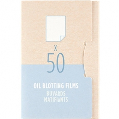The Face Shop Oil Blotting Films Матирующие салфетки 50шт