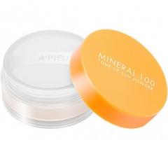 A'pieu Mineral 100 Tone Up Sun Powder Солнцезащитная рассыпчатая пудра SPF50+ PA++ 4г