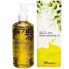 Elizavecca Natural 90% Olive Cleansing Oil Натуральное гидрофильное масло с оливой 300мл
