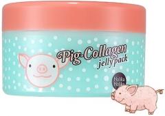 Holika Holika Pig Collagen Jelly Pack Коллагеновая ночная антивозрастная маска для лица 80г