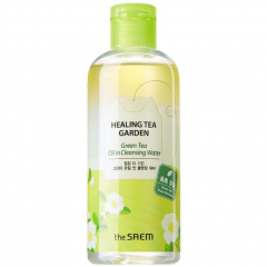 The Saem Healing Tea Green Tea Oil In Cleansing Water Вода очищающая с маслом зеленого чая 300мл