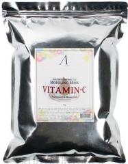 Anskin Vitamin-C Modeling Mask Увлажняющая альгинатная маска с витамином С (рефил) 1кг
