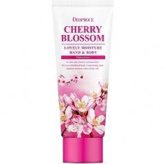 Deoproce Cherry Blossom Lovely Moisture Hand and Body Крем для рук и тела питательный 100мл