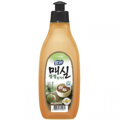 CJ Lion Chamgreen Japanese Apricot Средство для мытья посуды с ароматом абрикоса 290мл